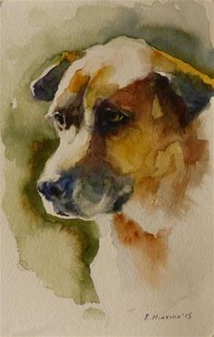 "Daily Paintworks - ""adopt104"" - Original Fine Art for Sale - © Katya Minkina"