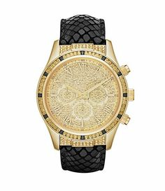 762a569cd3cb Can t get enough of this blue   gold Michael Kors watch! in love Michael  Kors Watches