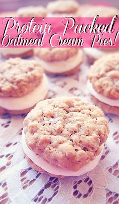 Undressed Skeleton — Protein Packed Oatmeal Cream Pies! Make Dessert Count!