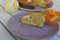 Torta con ricotta e arancia