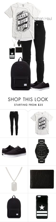 """Nathan Haul"" by directioner-four-ever on Polyvore featuring Topman, Lakai, Michael Kors, Loren Stewart, Will Leather Goods and Givenchy"