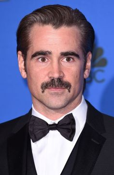 Colin Farrell -Is the moustache the new beard?