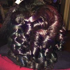 Custom Color & loose curls