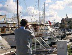 Our intern, Alfonso working in the harbour Manoel Island in #Malta. #Camillerimarine #Boat #Yachting