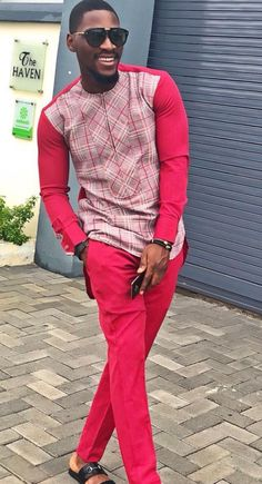 If you're on a search for Nigerian Ankara styles for men that will turn you into a best-dressed man anywhere you go,you are on the site,Cos we have the latest and most elegant Ankara styles for men that will give you that great look you desire. African Attire For Men, African Clothing For Men, African Wear, African Shirts, African Lace, Latest African Styles, Ankara Styles For Men, Nigerian Men Fashion, African Men Fashion