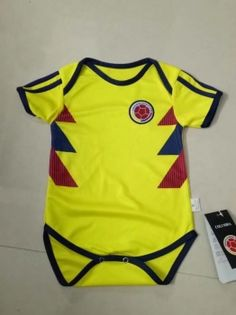 81f60b9b9 2018 World Cup Infant Jersey Colombia Home Replica Football Shirt 2018  World Cup Infant Jersey Colombia Home Replica Football Shirt
