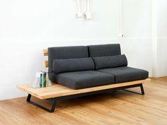 39 Ideas For Decor Industrial Diy Sofa Tables Diy Sofa Table, Diy Furniture Couch, Iron Furniture, Plywood Furniture, Unique Furniture, Home Decor Furniture, Pallet Furniture, Furniture Design, Oak Plywood