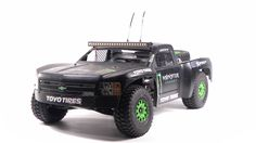 This is a custom made RC Desert Trophy Truck. Donor chassies was Traxxas Slash 2wd and it's been teared down to pieces so only transmission and frontend have been used in the fabricated chassies.