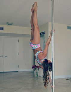 Fun Inverts time! Green Nile outfit by purepoledance.