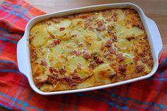 """Nákyp """"Tortilla de patata s chorizom"""""""