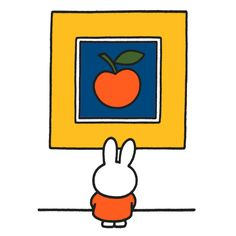 Miffy is disappointed at the state of modern art.