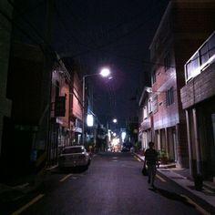.@hyebinn_   탕슉 흡입하고 집에 갈때 #밤 #귀가 #동래   Webstagram