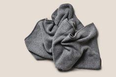 Cashmere Baby Blanket Grey