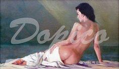 Desnudo (Apunte)/Nu (Esbozo)/Nude (Sketch). Técnica/Technique: Óleo/Oil on canvas. Referencia/Referente/Reference: CUADROS0012.