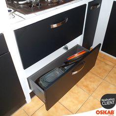 1000 images about accessoire cuisine quip e oskab on for Meuble sous plaque de cuisson