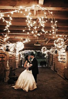 If I ever have a barn or a wedding...I will have a picture like this =)