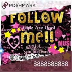 💖LIKE, FOLLOW, TAG AND SHARE! 💖 💖LIKE THIS LISTING!  💖FOLLOW EVERYONE WHO LIKED IT! 💖TAG YOUR FRIENDS! 💖SHARE THIS LISTING! 💖GAIN FOLLOWERS! TOUGH2SWEET Other