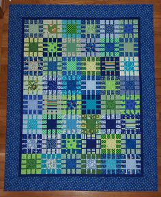 Molly's Christmas quilt by Be*mused, via Flickr