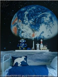 the boo and the boy: Decorating with stars and planets in kids' rooms