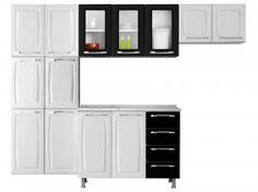 Cozinha Compacta Itatiaia Criativa com Balcão - 13 Portas 4 Gavetas