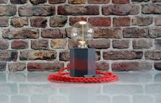 Hexagon Concrete Lamp, Mid Century Lamp, Industrial Lighting, Concrete Edison Lamp, Concrete Desk Lamp, Concrete Table Lamp #TableLamp #EdisonTableLamp #IndustrialLamp #HexagonLamp #ModernTableLamp #CubeLamp #DeskLamp #EdisonLamp #ModernLamp #IndustrialLighting