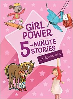 Girl Power 5-Minute Stories: Houghton Mifflin Harcourt: 9780544339255: Books - Amazon.ca