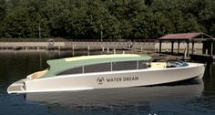 Waterdream Venetian Taxi Boat, limo tender