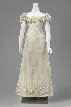 Evening dress, ca. 1815; Rijksmuseum BK-NM-8471