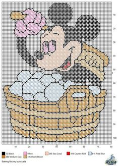 BATHING MICKEY MOUSE by ACCALIA -- WALL HANGING