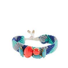 Girls' stone pattern bracelet