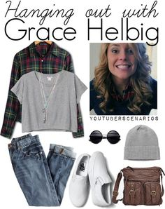 Grace Helbig outfit