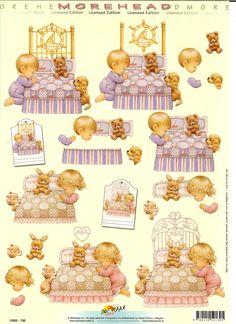 RB Sweet Drawings, 3d Sheets, Image 3d, 3d Craft, Printed Pages, 3d Prints, 3d Paper, Vintage Labels, Cardmaking