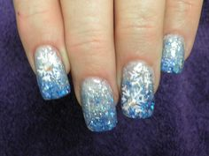 Winter bliss  Nails by Deb Brew