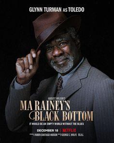Ma Rainey's Black Bottom (2020) Viola Davis, Ricky Bell New Edition, Hd Movies, Movie Tv, Films, Life Trailer, August Wilson, Blues, December