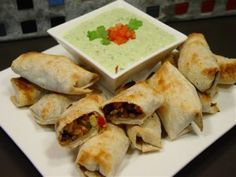 gotta have the avocado dip with the southwestern eggrolls :)
