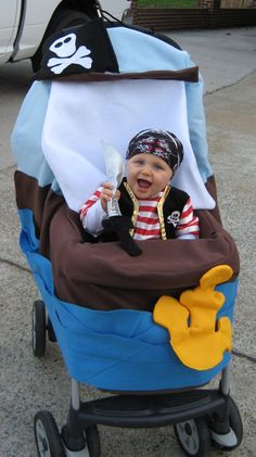 Some Tips, Tricks, And Methods For That Perfect Baby Costumes Stroller Halloween Costumes, Cute Kids Halloween Costumes, Stroller Costume, Nascar Costume, Toddler Costumes, First Halloween, Boy Costumes, Halloween Cosplay, Costume Ideas