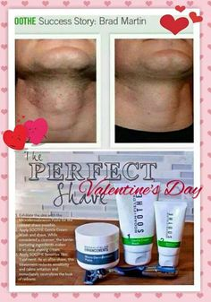 Give your man the gift of a smooth shave this Valentine's Day! <3 Men love our microdermabrasion paste (only have to use it three times a week) and step 2 and 3 of Soothe prevents razor burn and hydrates their skin.   Message me and we can have it ready by the big day!