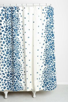 Plum & Bow Serena Shower Curtain #urbanoutfitters