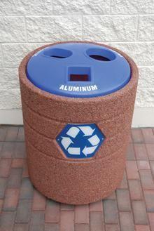 29 best concrete trash cans images concrete garbage can closet rh pinterest com