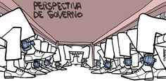 IRAM DE OLIVEIRA - opinião: Charge: reunião do governo interino no futuro próx...