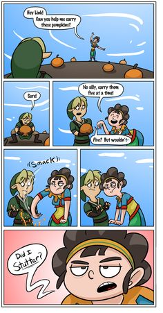 The Legend of Zelda. The pumpkin thing always took me a couple of tries -.-