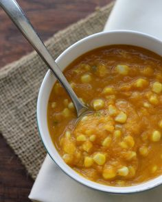 Sweet Potato, Corn and Jalapeno Bisque - Joanne Eats Well With Others