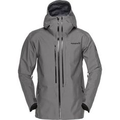 The terms burly, tough as nails, and bombproof get overused whenever outdoor gear gets brought up, but if there's one ski jacket deserving of such high praise, it would have to be the Norrona Lofoten ACE Gore-Tex Pro Men's Jacket. Too tough for scissors to cut and too rugged to be dyed, the Lofoten Ace is the first jacket built with Vectran fibers.