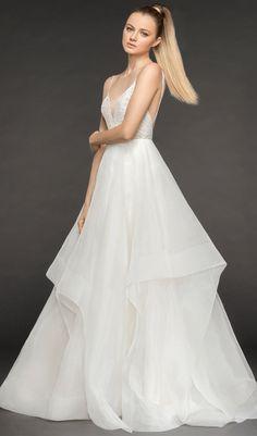 2eb96bb687783 Blush by Hayley Paige - STYLE 1853 PERRI. Blush By Hayley PaigeHayley Paige  BridalGown WeddingFall Wedding DressesDesigner ...