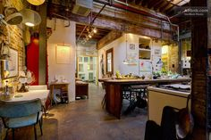 $80 Head to Brooklyn and stay in this unique converted warehouse that's filled with art and funky furniture. Fix a gourmet meal in the communal kitchen, mingle with working artists, and explore the vibrant neighborhood during your stay.
