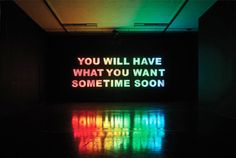 talk in lights // light // aesthetic // neon // writing // quotes // sign