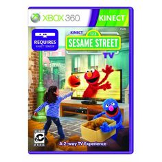 Kinect Sesame Street TV  Xbox 360 -- You can get additional details at the image link. Note:It is Affiliate Link to Amazon.