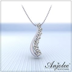 Enjoy the journey always with diamonds! This week the Curve Diamond Journey Necklace is 20% off.