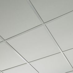 foldscapes square layin ceiling panel in white is economical and designed to change the look of a room convenient to install
