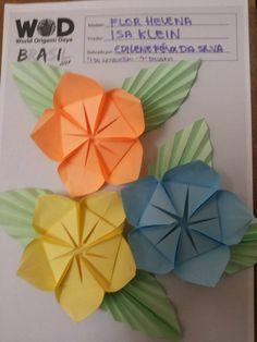 128 best flat origami flowers images on pinterest in 2018 origami world origami days 9 desafio dobrar a flor helena criao da isa klein mightylinksfo
